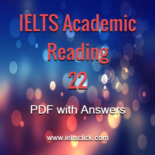 Academic Reading – IELTS Clicks